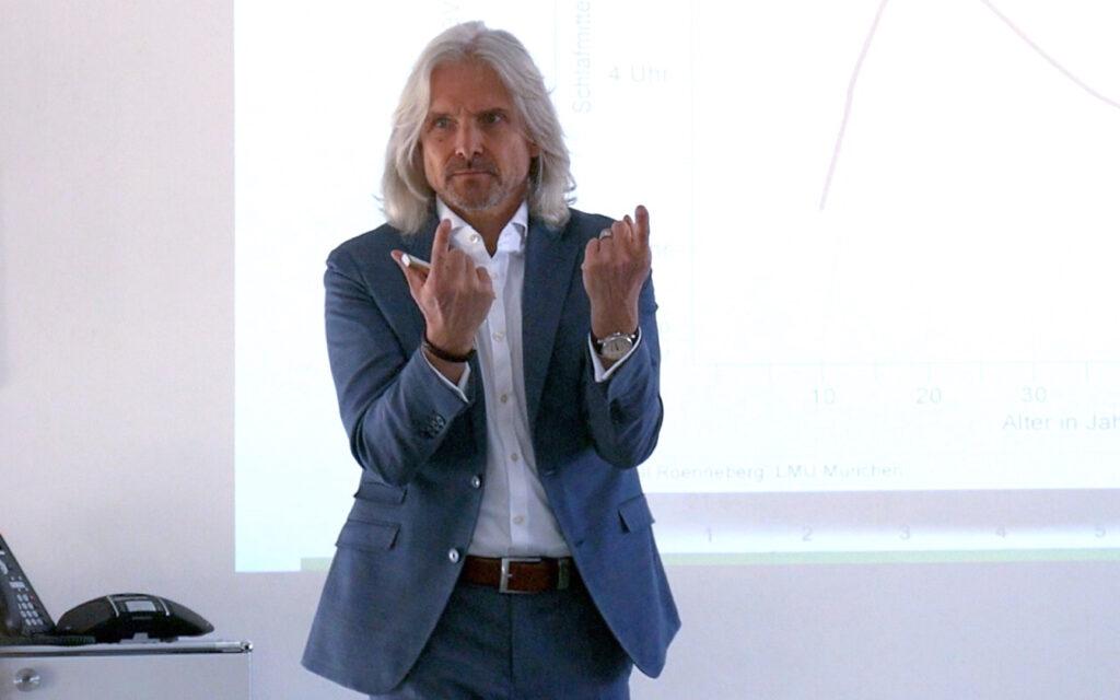 Michael Wieden - Vortrag Chronobiologie