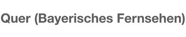 Bayerisches Fernsehen Michael Wieden