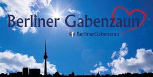 Wir unterstützend den Berliner Gabenzaun