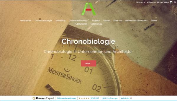 Haarwurzel Website der aliamos GmbH